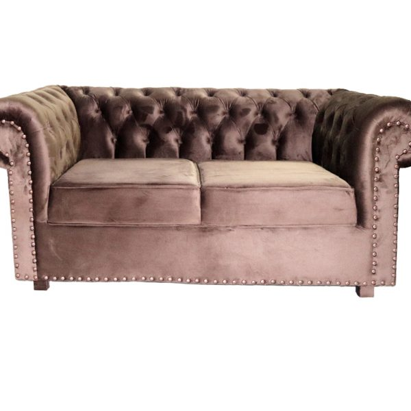 6-Seater Chesterfield Sofa, Royal Style Design Living Room Sofa