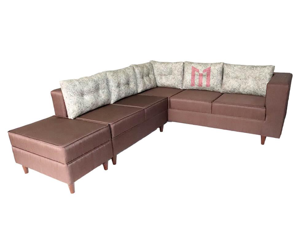6 Seater Mini Corner Sofa