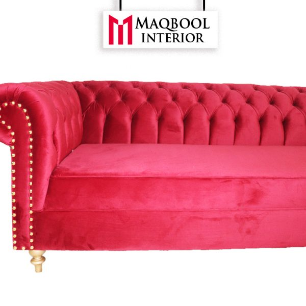 Chesterfield L-Shape Corner Maqbool Design #MI26SSJ32