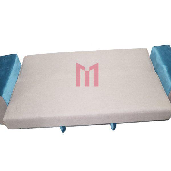 Sofa Cum Bed in velvet Design