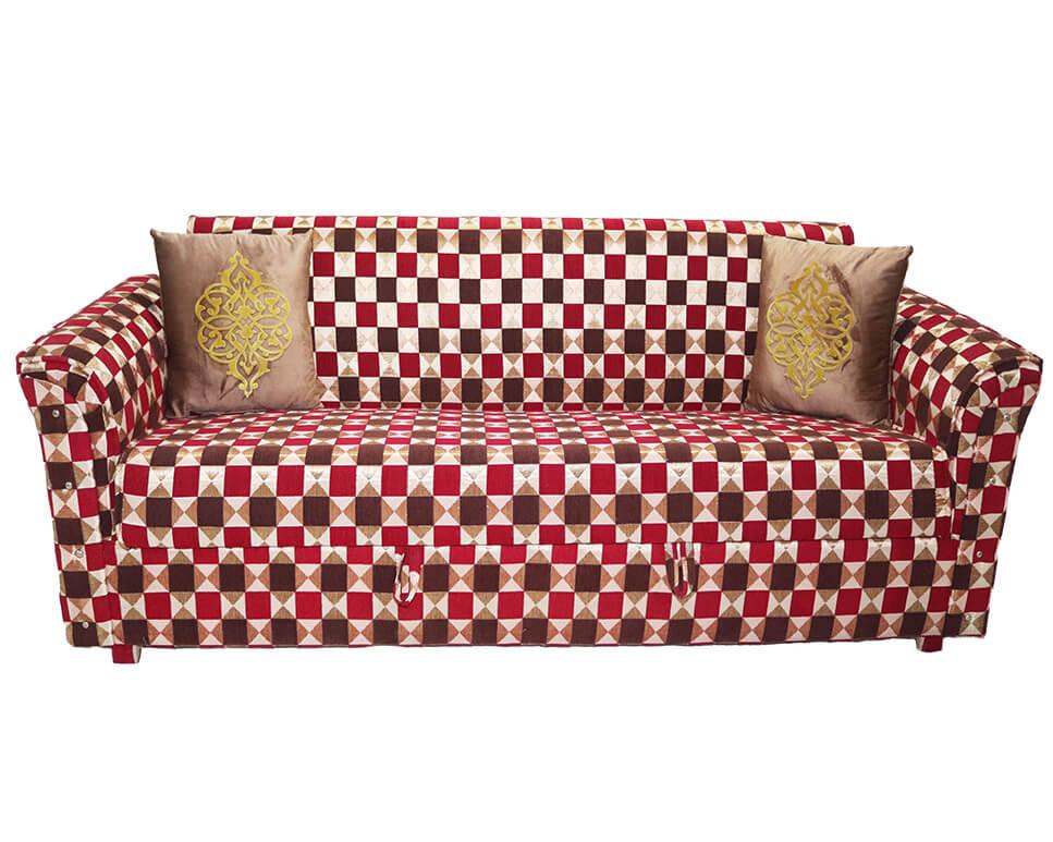 red box sofa cum bed