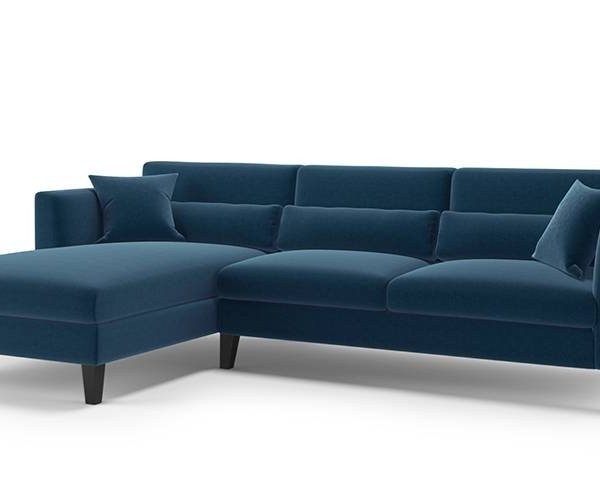 Sectional L Shape Sofa Set