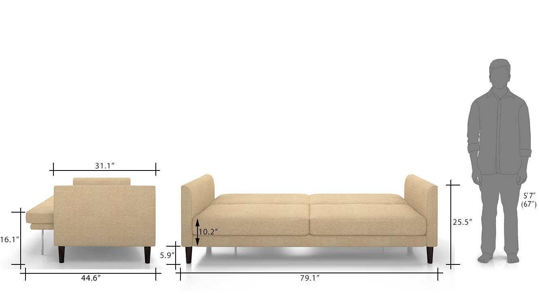 Sofa Cum Beb strcuture