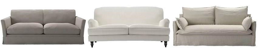 Shades of silence - neutral sofas