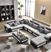 Modern L Shape Sofa #MLS6