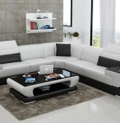 Modern L Shape Sofa #MLS8